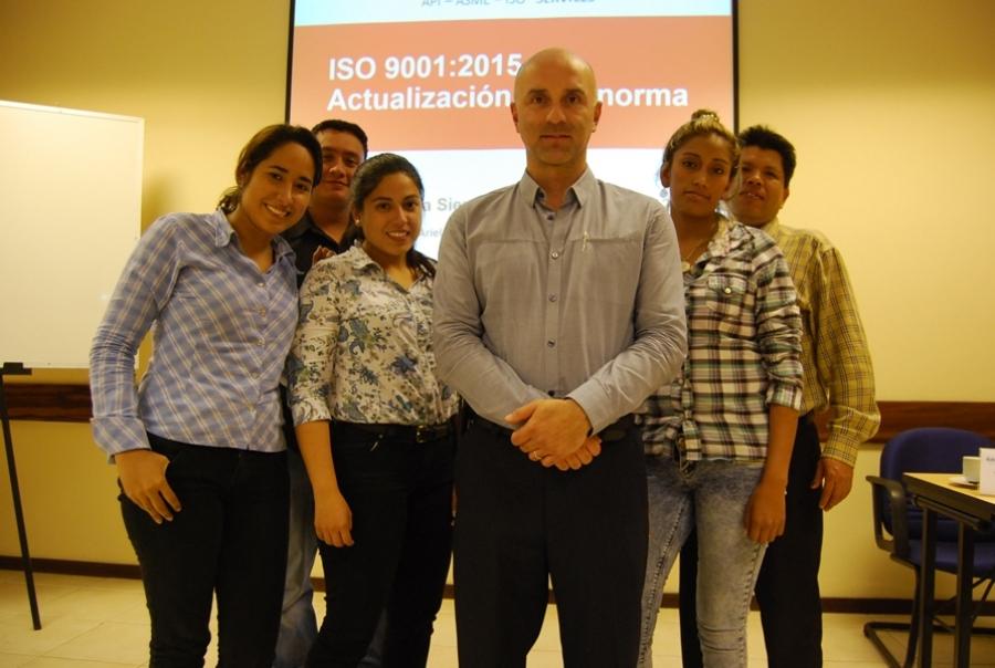 Nuevo: curso de actualización de la norma ISO 9001:2015