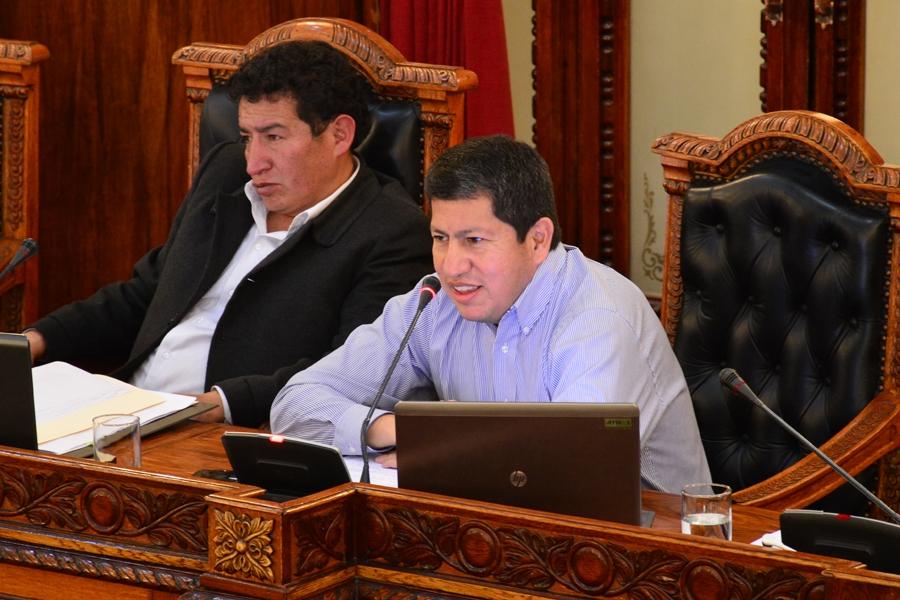 Diputados aprueba suscripción de adenda en contratos de operación