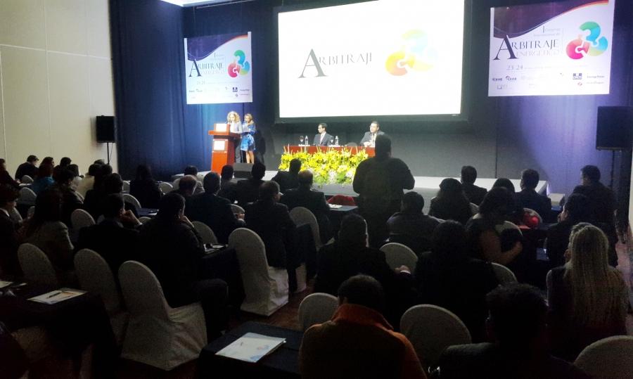 Arrancó el 1er Congreso Internacional de Arbitraje Energético