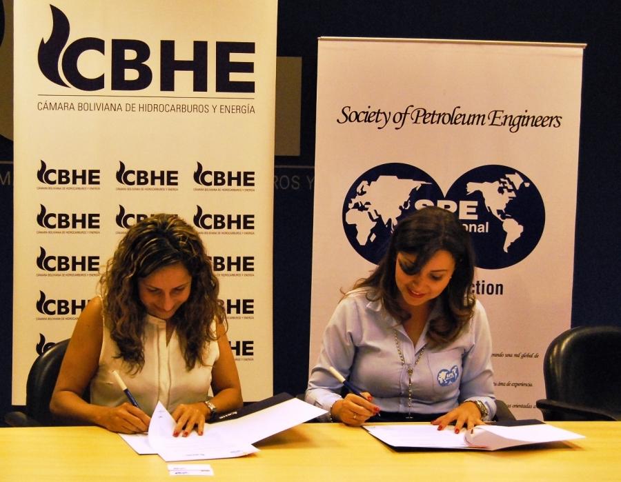 La CBHE y SPE Bolivia firman convenio de cooperación