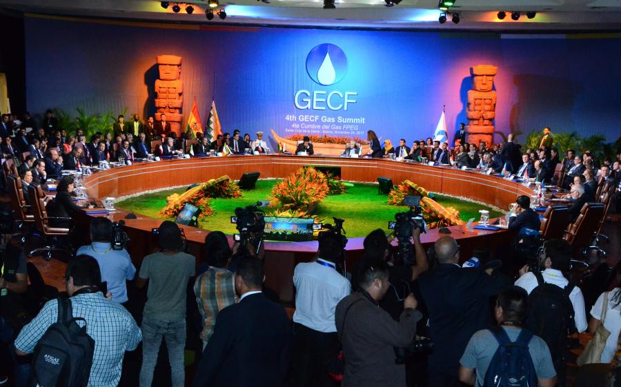 Finaliza la IV Cumbre del Foro de Países Exportadores de Gas con la Declaración de Santa Cruz