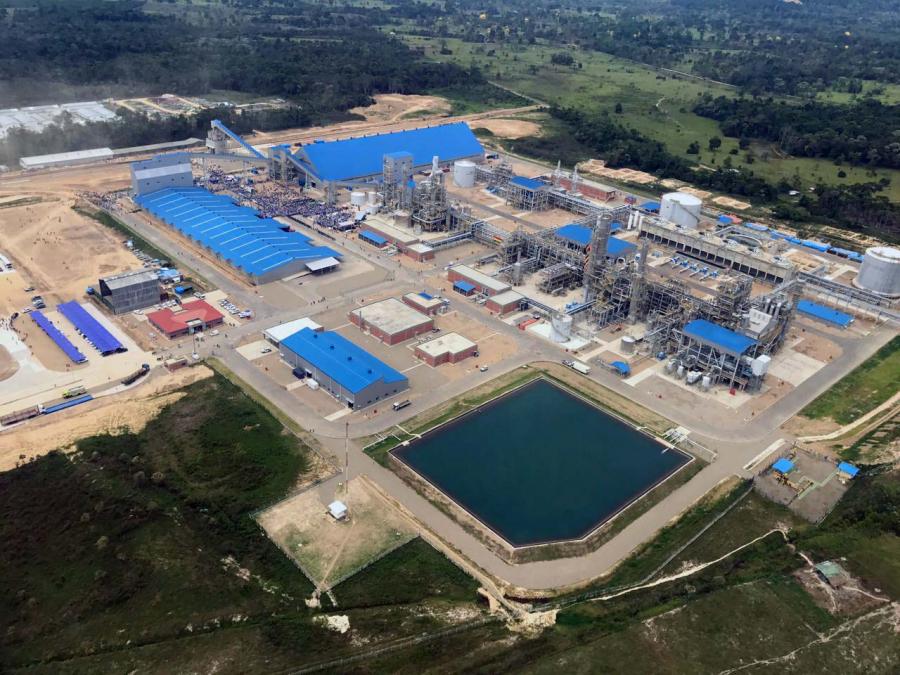 Gobierno: Es una realidad la industrialización de los hidrocarburos en Bolivia con la Planta de Amoniaco - Urea