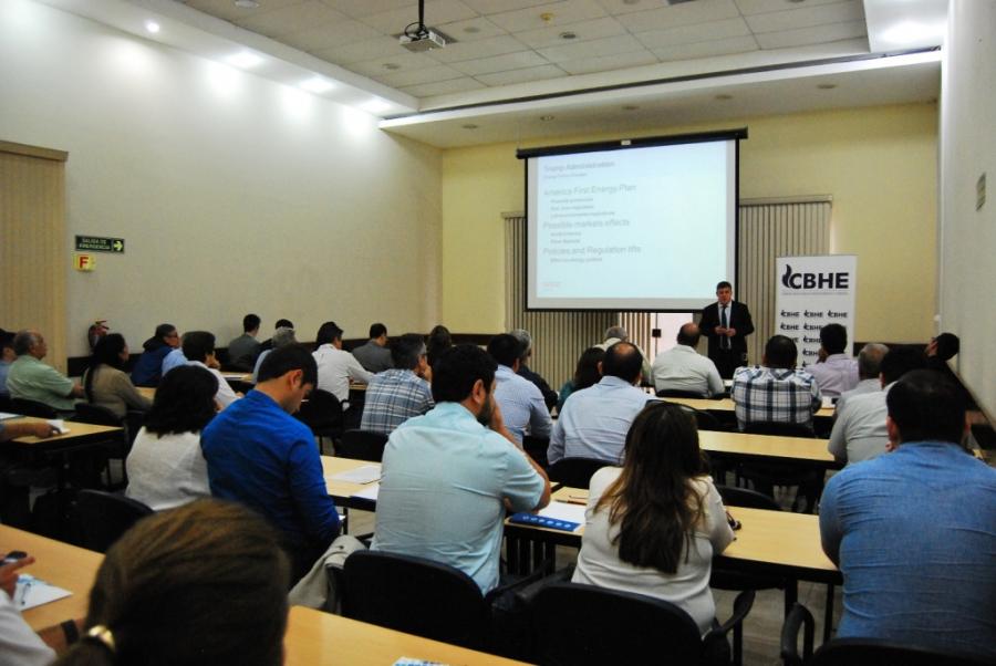 Se realizó conferencia internacional en la CBHE