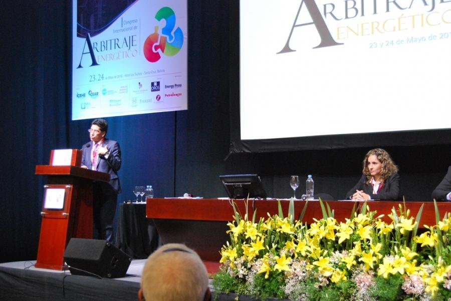 GRÁFICAS del 1er Congreso Internacional de Arbitraje Energéticto